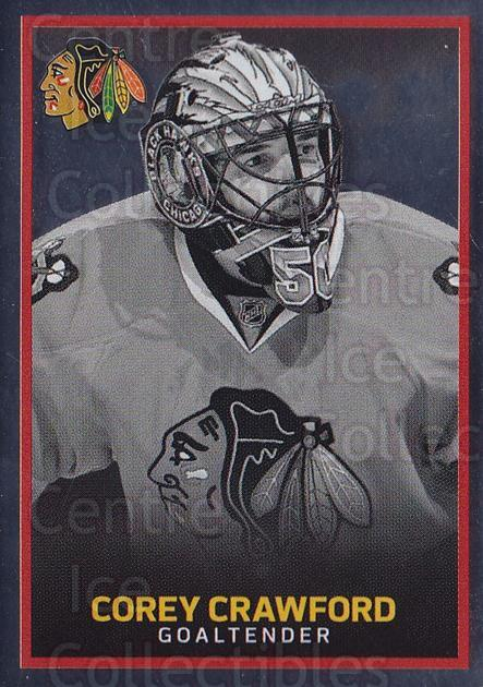 2017-18 Panini Stickers #280 Corey Crawford<br/>1 In Stock - $1.00 each - <a href=https://centericecollectibles.foxycart.com/cart?name=2017-18%20Panini%20Stickers%20%23280%20Corey%20Crawford...&quantity_max=1&price=$1.00&code=768089 class=foxycart> Buy it now! </a>