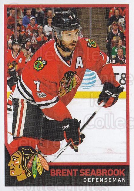 2017-18 Panini Stickers #283 Brent Seabrook<br/>1 In Stock - $1.00 each - <a href=https://centericecollectibles.foxycart.com/cart?name=2017-18%20Panini%20Stickers%20%23283%20Brent%20Seabrook...&quantity_max=1&price=$1.00&code=768092 class=foxycart> Buy it now! </a>