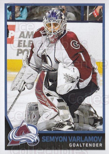 2017-18 Panini Stickers #295 Semyon Varlamov<br/>1 In Stock - $1.00 each - <a href=https://centericecollectibles.foxycart.com/cart?name=2017-18%20Panini%20Stickers%20%23295%20Semyon%20Varlamov...&quantity_max=1&price=$1.00&code=768104 class=foxycart> Buy it now! </a>