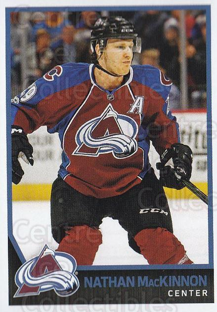 2017-18 Panini Stickers #302 Nathan MacKinnon<br/>1 In Stock - $3.00 each - <a href=https://centericecollectibles.foxycart.com/cart?name=2017-18%20Panini%20Stickers%20%23302%20Nathan%20MacKinno...&quantity_max=1&price=$3.00&code=768111 class=foxycart> Buy it now! </a>