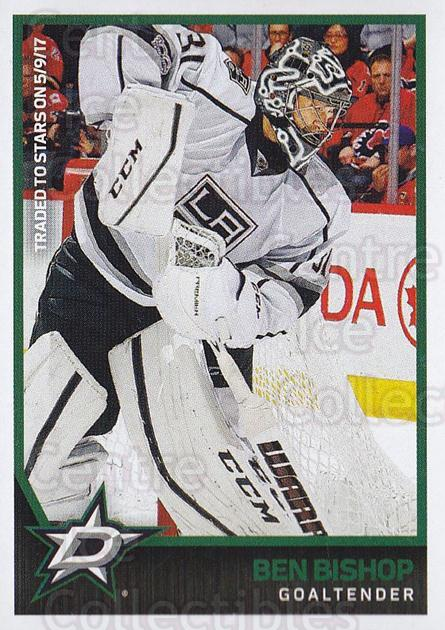 2017-18 Panini Stickers #309 Ben Bishop<br/>1 In Stock - $1.00 each - <a href=https://centericecollectibles.foxycart.com/cart?name=2017-18%20Panini%20Stickers%20%23309%20Ben%20Bishop...&quantity_max=1&price=$1.00&code=768118 class=foxycart> Buy it now! </a>