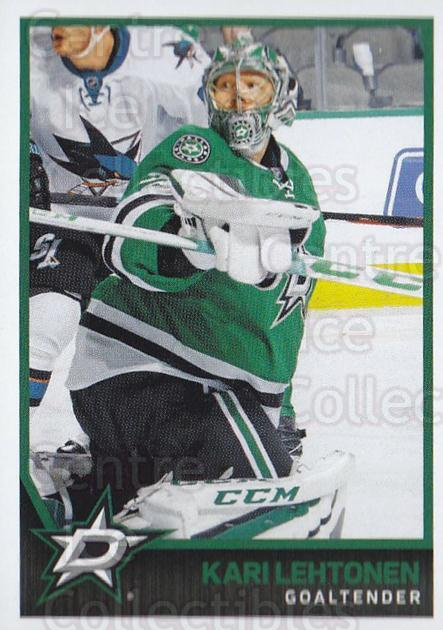 2017-18 Panini Stickers #310 Kari Lehtonen<br/>1 In Stock - $1.00 each - <a href=https://centericecollectibles.foxycart.com/cart?name=2017-18%20Panini%20Stickers%20%23310%20Kari%20Lehtonen...&quantity_max=1&price=$1.00&code=768119 class=foxycart> Buy it now! </a>