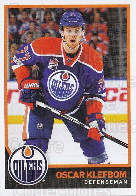 2017-18 Panini Stickers #324 Oscar Klefbom<br/>1 In Stock - $1.00 each - <a href=https://centericecollectibles.foxycart.com/cart?name=2017-18%20Panini%20Stickers%20%23324%20Oscar%20Klefbom...&quantity_max=1&price=$1.00&code=768133 class=foxycart> Buy it now! </a>