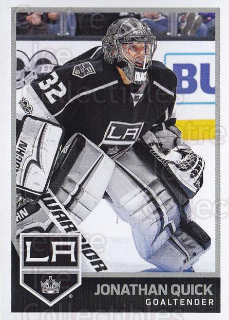 2017-18 Panini Stickers #337 Jonathan Quick<br/>1 In Stock - $1.00 each - <a href=https://centericecollectibles.foxycart.com/cart?name=2017-18%20Panini%20Stickers%20%23337%20Jonathan%20Quick...&quantity_max=1&price=$1.00&code=768146 class=foxycart> Buy it now! </a>