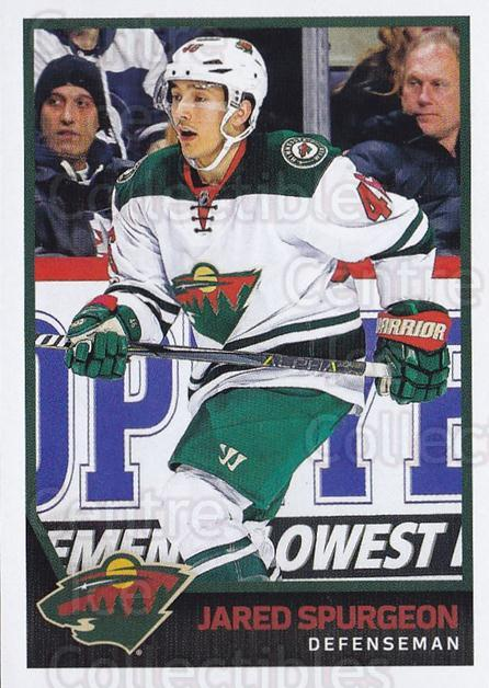 2017-18 Panini Stickers #352 Jared Spurgeon<br/>1 In Stock - $1.00 each - <a href=https://centericecollectibles.foxycart.com/cart?name=2017-18%20Panini%20Stickers%20%23352%20Jared%20Spurgeon...&quantity_max=1&price=$1.00&code=768161 class=foxycart> Buy it now! </a>