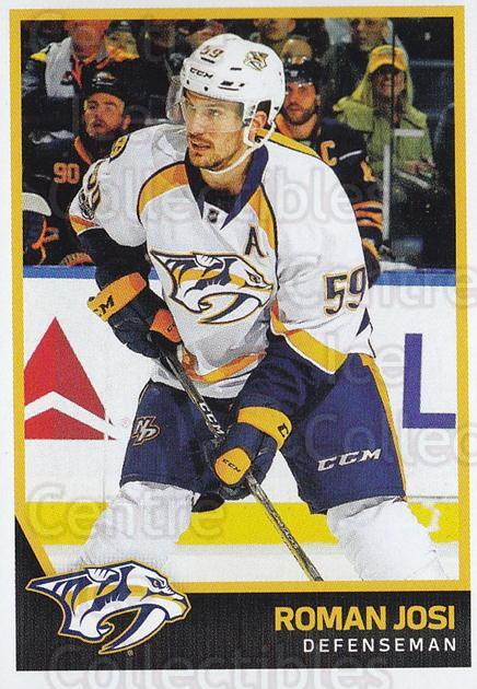 2017-18 Panini Stickers #367 Roman Josi<br/>1 In Stock - $1.00 each - <a href=https://centericecollectibles.foxycart.com/cart?name=2017-18%20Panini%20Stickers%20%23367%20Roman%20Josi...&quantity_max=1&price=$1.00&code=768176 class=foxycart> Buy it now! </a>