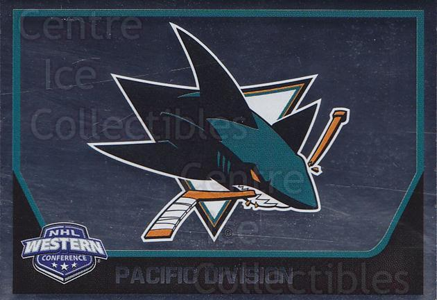 2017-18 Panini Stickers #374 San Jose Sharks<br/>1 In Stock - $1.00 each - <a href=https://centericecollectibles.foxycart.com/cart?name=2017-18%20Panini%20Stickers%20%23374%20San%20Jose%20Sharks...&quantity_max=1&price=$1.00&code=768183 class=foxycart> Buy it now! </a>