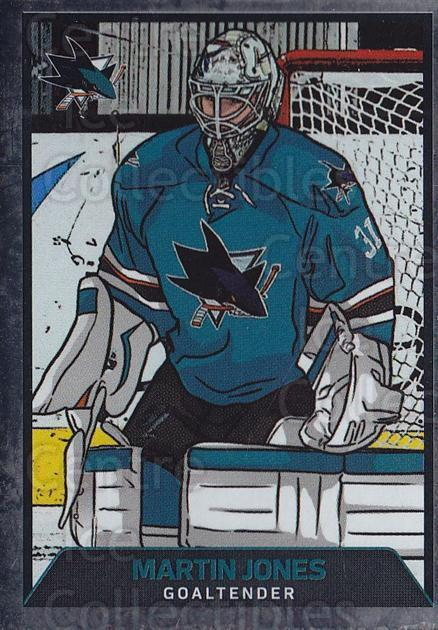 2017-18 Panini Stickers #375 Martin Jones<br/>1 In Stock - $1.00 each - <a href=https://centericecollectibles.foxycart.com/cart?name=2017-18%20Panini%20Stickers%20%23375%20Martin%20Jones...&quantity_max=1&price=$1.00&code=768184 class=foxycart> Buy it now! </a>