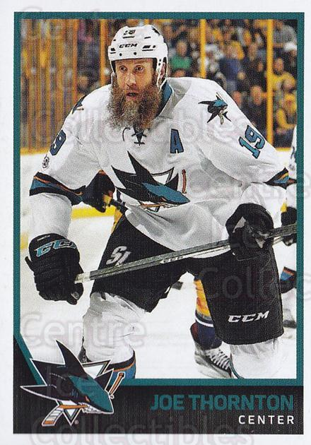 2017-18 Panini Stickers #386 Joe Thornton<br/>1 In Stock - $1.00 each - <a href=https://centericecollectibles.foxycart.com/cart?name=2017-18%20Panini%20Stickers%20%23386%20Joe%20Thornton...&quantity_max=1&price=$1.00&code=768195 class=foxycart> Buy it now! </a>