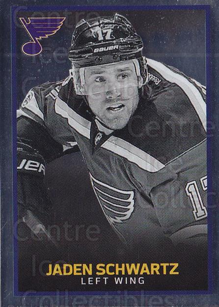 2017-18 Panini Stickers #391 Jaden Schwartz<br/>1 In Stock - $1.00 each - <a href=https://centericecollectibles.foxycart.com/cart?name=2017-18%20Panini%20Stickers%20%23391%20Jaden%20Schwartz...&quantity_max=1&price=$1.00&code=768200 class=foxycart> Buy it now! </a>