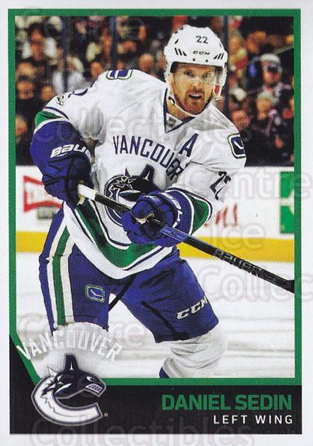 2017-18 Panini Stickers #413 Daniel Sedin<br/>1 In Stock - $2.00 each - <a href=https://centericecollectibles.foxycart.com/cart?name=2017-18%20Panini%20Stickers%20%23413%20Daniel%20Sedin...&quantity_max=1&price=$2.00&code=768222 class=foxycart> Buy it now! </a>