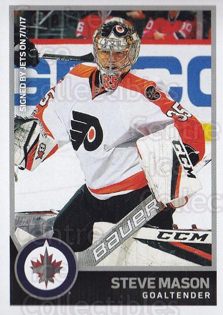 2017-18 Panini Stickers #435 Steve Mason<br/>1 In Stock - $1.00 each - <a href=https://centericecollectibles.foxycart.com/cart?name=2017-18%20Panini%20Stickers%20%23435%20Steve%20Mason...&quantity_max=1&price=$1.00&code=768244 class=foxycart> Buy it now! </a>