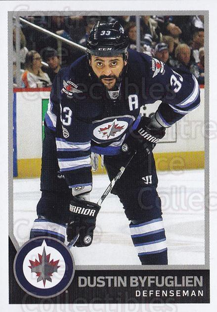2017-18 Panini Stickers #436 Dustin Byfuglien<br/>1 In Stock - $1.00 each - <a href=https://centericecollectibles.foxycart.com/cart?name=2017-18%20Panini%20Stickers%20%23436%20Dustin%20Byfuglie...&quantity_max=1&price=$1.00&code=768245 class=foxycart> Buy it now! </a>