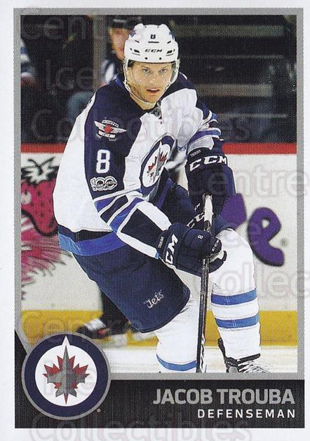 2017-18 Panini Stickers #437 Jacob Trouba<br/>1 In Stock - $1.00 each - <a href=https://centericecollectibles.foxycart.com/cart?name=2017-18%20Panini%20Stickers%20%23437%20Jacob%20Trouba...&quantity_max=1&price=$1.00&code=768246 class=foxycart> Buy it now! </a>