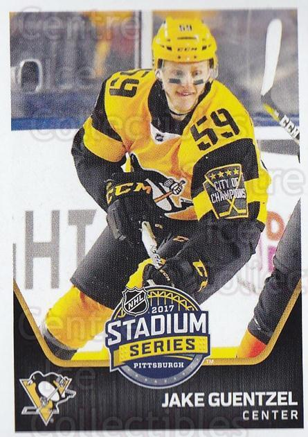 2017-18 Panini Stickers #450 Jake Guentzel<br/>1 In Stock - $1.00 each - <a href=https://centericecollectibles.foxycart.com/cart?name=2017-18%20Panini%20Stickers%20%23450%20Jake%20Guentzel...&quantity_max=1&price=$1.00&code=768259 class=foxycart> Buy it now! </a>