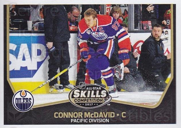 2017-18 Panini Stickers #453 Connor McDavid<br/>1 In Stock - $5.00 each - <a href=https://centericecollectibles.foxycart.com/cart?name=2017-18%20Panini%20Stickers%20%23453%20Connor%20McDavid...&quantity_max=1&price=$5.00&code=768262 class=foxycart> Buy it now! </a>