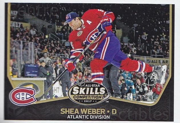 2017-18 Panini Stickers #458 Shea Weber<br/>1 In Stock - $1.00 each - <a href=https://centericecollectibles.foxycart.com/cart?name=2017-18%20Panini%20Stickers%20%23458%20Shea%20Weber...&quantity_max=1&price=$1.00&code=768267 class=foxycart> Buy it now! </a>
