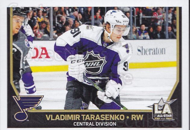 2017-18 Panini Stickers #462 Vladimir Tarasenko<br/>1 In Stock - $1.00 each - <a href=https://centericecollectibles.foxycart.com/cart?name=2017-18%20Panini%20Stickers%20%23462%20Vladimir%20Tarase...&quantity_max=1&price=$1.00&code=768271 class=foxycart> Buy it now! </a>
