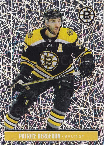 2018-19 Panini Stickers #12 Patrice Bergeron<br/>1 In Stock - $3.00 each - <a href=https://centericecollectibles.foxycart.com/cart?name=2018-19%20Panini%20Stickers%20%2312%20Patrice%20Bergero...&quantity_max=1&price=$3.00&code=768330 class=foxycart> Buy it now! </a>