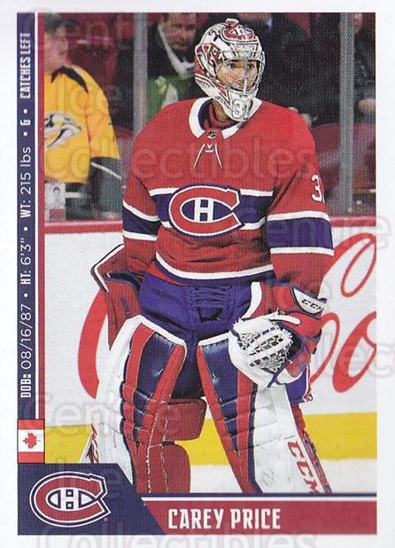 2018-19 Panini Stickers #111 Carey Price<br/>2 In Stock - $5.00 each - <a href=https://centericecollectibles.foxycart.com/cart?name=2018-19%20Panini%20Stickers%20%23111%20Carey%20Price...&quantity_max=2&price=$5.00&code=768429 class=foxycart> Buy it now! </a>