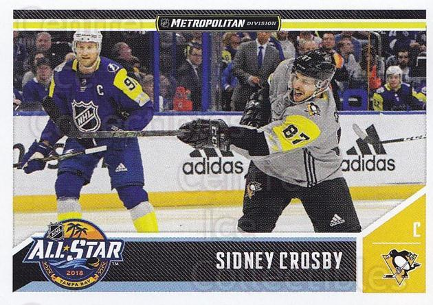 2018-19 Panini Stickers #541 Sidney Crosby<br/>2 In Stock - $5.00 each - <a href=https://centericecollectibles.foxycart.com/cart?name=2018-19%20Panini%20Stickers%20%23541%20Sidney%20Crosby...&quantity_max=2&price=$5.00&code=768859 class=foxycart> Buy it now! </a>