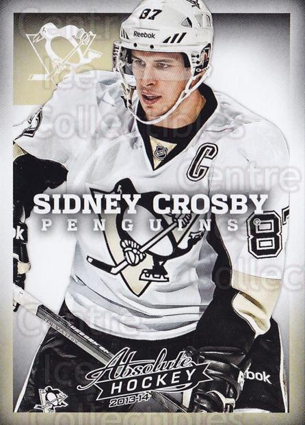 2013-14 Absolute Hockey #1 Sidney Crosby<br/>1 In Stock - $5.00 each - <a href=https://centericecollectibles.foxycart.com/cart?name=2013-14%20Absolute%20Hockey%20%231%20Sidney%20Crosby...&quantity_max=1&price=$5.00&code=769119 class=foxycart> Buy it now! </a>