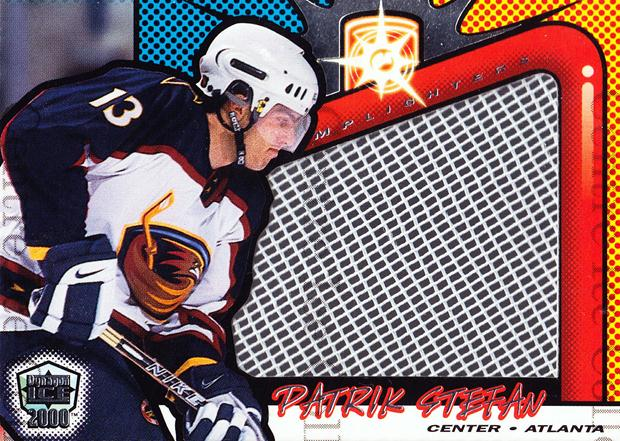 1999-00 Dynagon Ice Lamplighter Net-Fusions #3 Patrik Stefan<br/>1 In Stock - $5.00 each - <a href=https://centericecollectibles.foxycart.com/cart?name=1999-00%20Dynagon%20Ice%20Lamplighter%20Net-Fusions%20%233%20Patrik%20Stefan...&quantity_max=1&price=$5.00&code=76939 class=foxycart> Buy it now! </a>