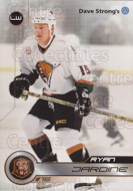 2001-02 Utah Grizzlies #24 Ryan Jardine<br/>1 In Stock - $3.00 each - <a href=https://centericecollectibles.foxycart.com/cart?name=2001-02%20Utah%20Grizzlies%20%2324%20Ryan%20Jardine...&quantity_max=1&price=$3.00&code=770746 class=foxycart> Buy it now! </a>