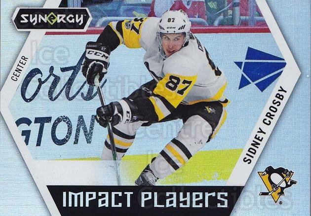 2017-18 Synergy Impact Players #50 Sidney Crosby<br/>1 In Stock - $10.00 each - <a href=https://centericecollectibles.foxycart.com/cart?name=2017-18%20Synergy%20Impact%20Players%20%2350%20Sidney%20Crosby...&quantity_max=1&price=$10.00&code=771326 class=foxycart> Buy it now! </a>