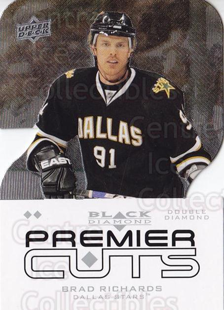 2008-09 Black Diamond Premier #23 Brad Richards<br/>1 In Stock - $5.00 each - <a href=https://centericecollectibles.foxycart.com/cart?name=2008-09%20Black%20Diamond%20Premier%20%2323%20Brad%20Richards...&quantity_max=1&price=$5.00&code=771902 class=foxycart> Buy it now! </a>