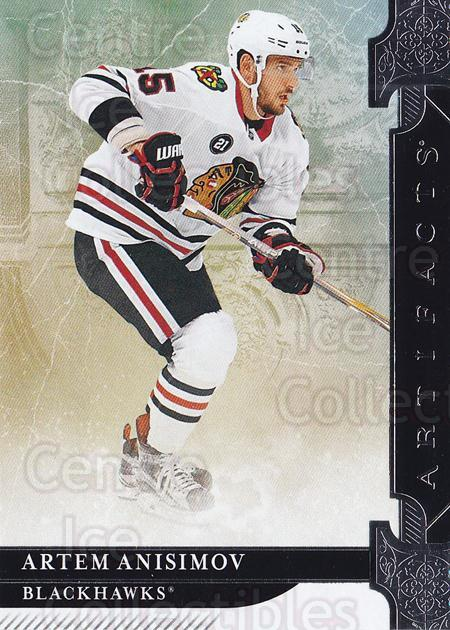 2019-20 UD Artifacts #87 Artem Anisimov<br/>2 In Stock - $1.00 each - <a href=https://centericecollectibles.foxycart.com/cart?name=2019-20%20UD%20Artifacts%20%2387%20Artem%20Anisimov...&quantity_max=2&price=$1.00&code=772531 class=foxycart> Buy it now! </a>