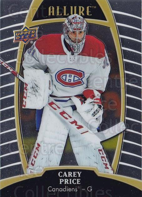 2019-20 Upper Deck Allure #11 Carey Price<br/>2 In Stock - $5.00 each - <a href=https://centericecollectibles.foxycart.com/cart?name=2019-20%20Upper%20Deck%20Allure%20%2311%20Carey%20Price...&quantity_max=2&price=$5.00&code=772675 class=foxycart> Buy it now! </a>