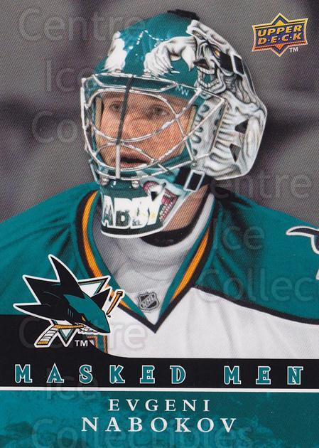2008-09 Upper Deck Masked Men #10 Evgeni Nabokov<br/>1 In Stock - $3.00 each - <a href=https://centericecollectibles.foxycart.com/cart?name=2008-09%20Upper%20Deck%20Masked%20Men%20%2310%20Evgeni%20Nabokov...&quantity_max=1&price=$3.00&code=773159 class=foxycart> Buy it now! </a>