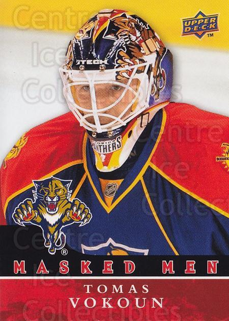 2008-09 Upper Deck Masked Men #16 Tomas Vokoun<br/>1 In Stock - $3.00 each - <a href=https://centericecollectibles.foxycart.com/cart?name=2008-09%20Upper%20Deck%20Masked%20Men%20%2316%20Tomas%20Vokoun...&quantity_max=1&price=$3.00&code=773165 class=foxycart> Buy it now! </a>
