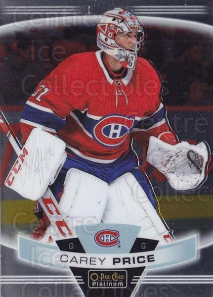 2019-20 O-Pee-Chee Platinum #125 Carey Price<br/>1 In Stock - $3.00 each - <a href=https://centericecollectibles.foxycart.com/cart?name=2019-20%20O-Pee-Chee%20Platinum%20%23125%20Carey%20Price...&quantity_max=1&price=$3.00&code=774185 class=foxycart> Buy it now! </a>