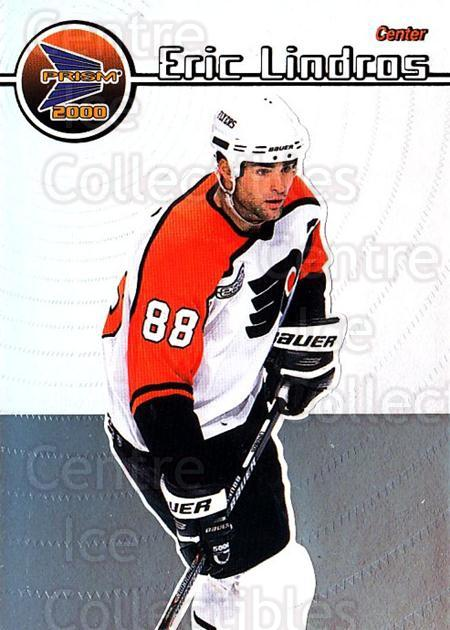 1999-00 Pacific Prism #103 Eric Lindros<br/>2 In Stock - $2.00 each - <a href=https://centericecollectibles.foxycart.com/cart?name=1999-00%20Pacific%20Prism%20%23103%20Eric%20Lindros...&quantity_max=2&price=$2.00&code=78067 class=foxycart> Buy it now! </a>