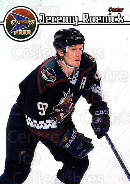 1999-00 Pacific Prism #109 Jeremy Roenick<br/>6 In Stock - $2.00 each - <a href=https://centericecollectibles.foxycart.com/cart?name=1999-00%20Pacific%20Prism%20%23109%20Jeremy%20Roenick...&quantity_max=6&price=$2.00&code=78073 class=foxycart> Buy it now! </a>