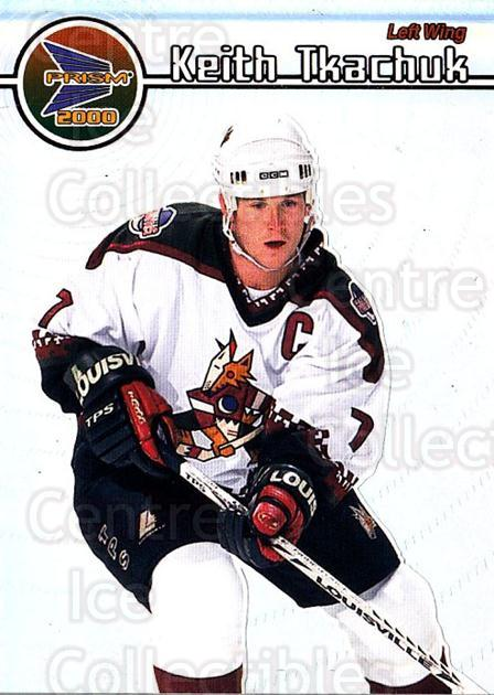 1999-00 Pacific Prism #110 Keith Tkachuk<br/>5 In Stock - $1.00 each - <a href=https://centericecollectibles.foxycart.com/cart?name=1999-00%20Pacific%20Prism%20%23110%20Keith%20Tkachuk...&quantity_max=5&price=$1.00&code=78075 class=foxycart> Buy it now! </a>
