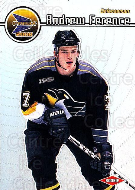 1999-00 Prism #113 Andrew Ference<br/>5 In Stock - $1.00 each - <a href=https://centericecollectibles.foxycart.com/cart?name=1999-00%20Prism%20%23113%20Andrew%20Ference...&quantity_max=5&price=$1.00&code=78078 class=foxycart> Buy it now! </a>