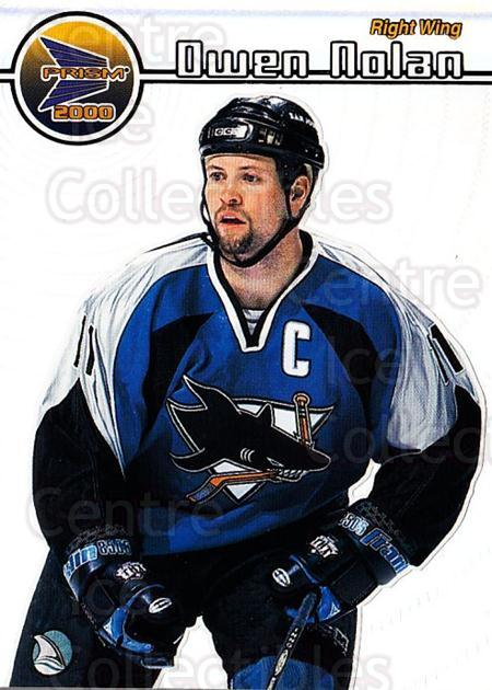 1999-00 Pacific Prism #126 Owen Nolan<br/>7 In Stock - $1.00 each - <a href=https://centericecollectibles.foxycart.com/cart?name=1999-00%20Pacific%20Prism%20%23126%20Owen%20Nolan...&quantity_max=7&price=$1.00&code=78091 class=foxycart> Buy it now! </a>