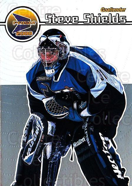 1999-00 Pacific Prism #127 Steve Shields<br/>3 In Stock - $1.00 each - <a href=https://centericecollectibles.foxycart.com/cart?name=1999-00%20Pacific%20Prism%20%23127%20Steve%20Shields...&quantity_max=3&price=$1.00&code=78092 class=foxycart> Buy it now! </a>