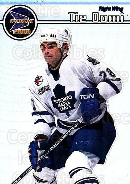 1999-00 Pacific Prism #136 Tie Domi<br/>4 In Stock - $1.00 each - <a href=https://centericecollectibles.foxycart.com/cart?name=1999-00%20Pacific%20Prism%20%23136%20Tie%20Domi...&quantity_max=4&price=$1.00&code=78101 class=foxycart> Buy it now! </a>