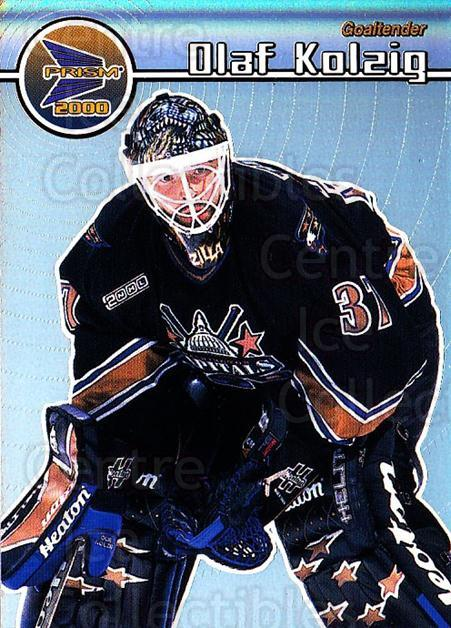 1999-00 Prism #148 Olaf Kolzig<br/>3 In Stock - $1.00 each - <a href=https://centericecollectibles.foxycart.com/cart?name=1999-00%20Prism%20%23148%20Olaf%20Kolzig...&quantity_max=3&price=$1.00&code=78112 class=foxycart> Buy it now! </a>