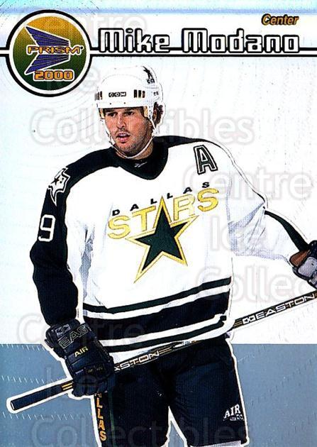 1999-00 Pacific Prism #46 Mike Modano<br/>6 In Stock - $2.00 each - <a href=https://centericecollectibles.foxycart.com/cart?name=1999-00%20Pacific%20Prism%20%2346%20Mike%20Modano...&quantity_max=6&price=$2.00&code=78145 class=foxycart> Buy it now! </a>
