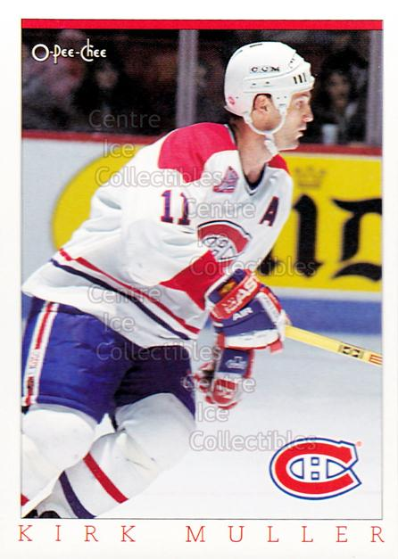 1993 O-Pee-Chee Montreal Canadiens Hockey Fest #26 Kirk Muller<br/>5 In Stock - $2.00 each - <a href=https://centericecollectibles.foxycart.com/cart?name=1993%20O-Pee-Chee%20Montreal%20Canadiens%20Hockey%20Fest%20%2326%20Kirk%20Muller...&quantity_max=5&price=$2.00&code=7814 class=foxycart> Buy it now! </a>