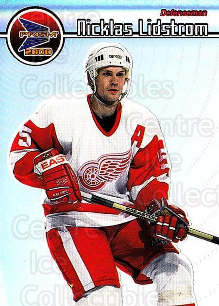 1999-00 Pacific Prism #52 Nicklas Lidstrom<br/>2 In Stock - $2.00 each - <a href=https://centericecollectibles.foxycart.com/cart?name=1999-00%20Pacific%20Prism%20%2352%20Nicklas%20Lidstro...&quantity_max=2&price=$2.00&code=78152 class=foxycart> Buy it now! </a>