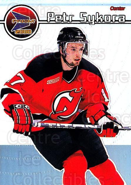 1999-00 Pacific Prism #84 Petr Sykora<br/>6 In Stock - $1.00 each - <a href=https://centericecollectibles.foxycart.com/cart?name=1999-00%20Pacific%20Prism%20%2384%20Petr%20Sykora...&quantity_max=6&price=$1.00&code=78185 class=foxycart> Buy it now! </a>