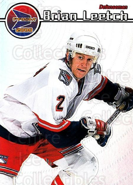 1999-00 Pacific Prism #91 Brian Leetch<br/>5 In Stock - $1.00 each - <a href=https://centericecollectibles.foxycart.com/cart?name=1999-00%20Pacific%20Prism%20%2391%20Brian%20Leetch...&quantity_max=5&price=$1.00&code=78193 class=foxycart> Buy it now! </a>