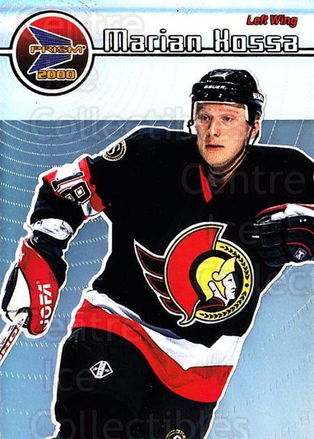 1999-00 Prism #96 Marian Hossa<br/>7 In Stock - $1.00 each - <a href=https://centericecollectibles.foxycart.com/cart?name=1999-00%20Prism%20%2396%20Marian%20Hossa...&quantity_max=7&price=$1.00&code=78198 class=foxycart> Buy it now! </a>