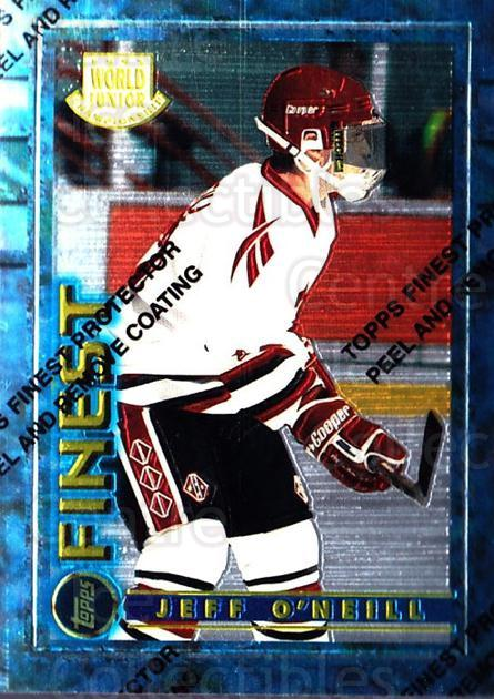 1994-95 Finest #162 Jeff O'Neill<br/>6 In Stock - $1.00 each - <a href=https://centericecollectibles.foxycart.com/cart?name=1994-95%20Finest%20%23162%20Jeff%20O'Neill...&quantity_max=6&price=$1.00&code=781 class=foxycart> Buy it now! </a>